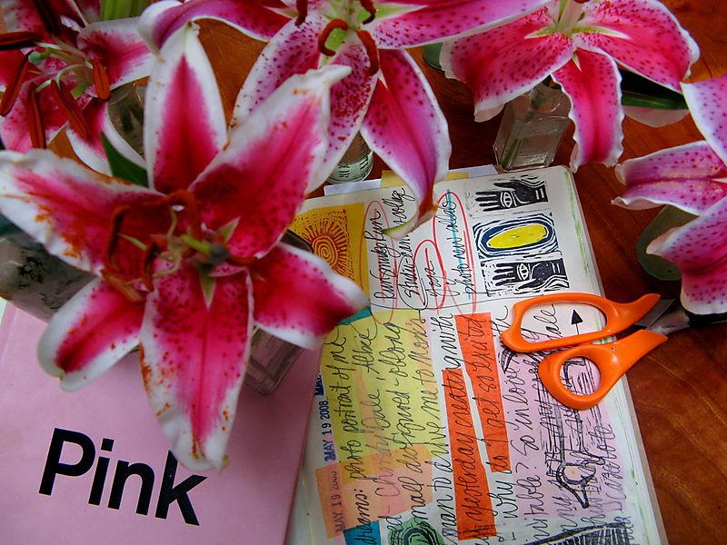 Pink journaling
