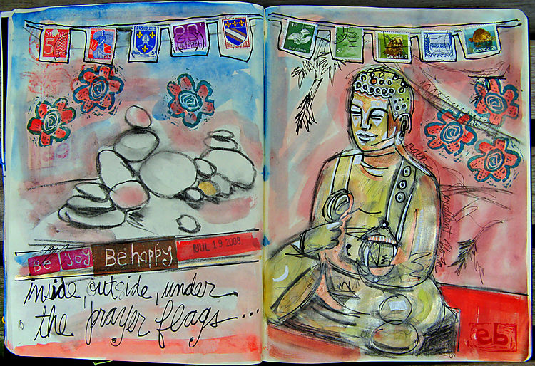 Buddha rocks