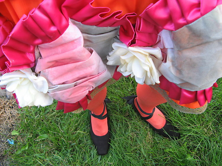 Diva skirt, legs