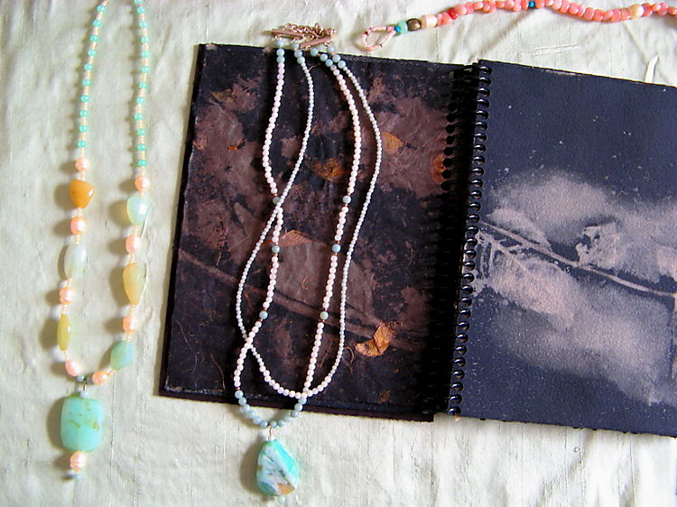 Art hop studio view - journal - jewelry