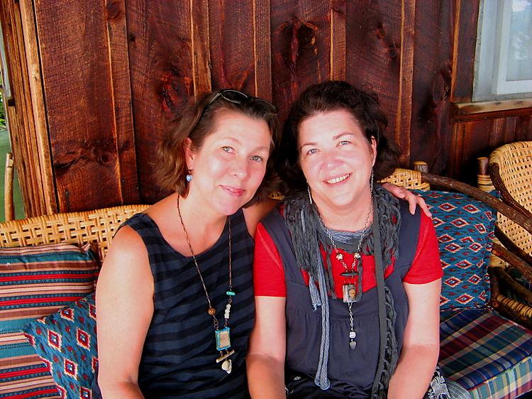 Nina and me