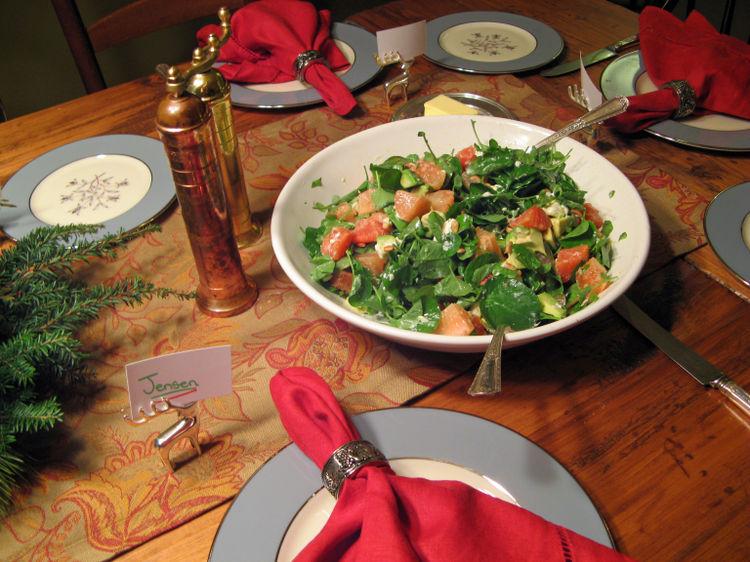 Xmas - citrus salad