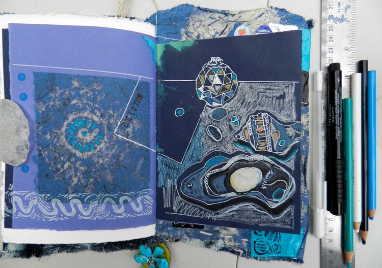 Blue pages 2