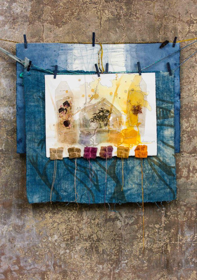 Tea rose and saffron timeless textiles show 1