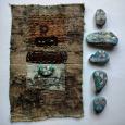 slow stitch Korhogo cloth
